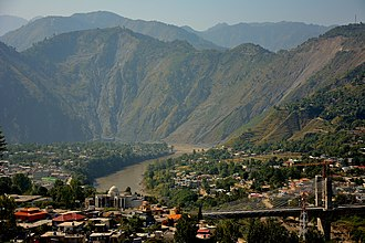 Muzaffarabad - Muzaffarabad has largely been rebuilt since the 2005 earthquake.