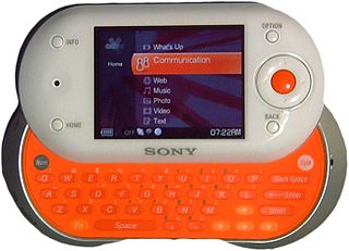 mylo (Sony) handheld device made by Sony