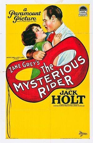 The Mysterious Rider (1927 film) - Film poster