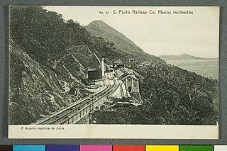 Nº 31. S. Paulo Railway Co. Planos Inclinados. - a Terceira Machina da Serra