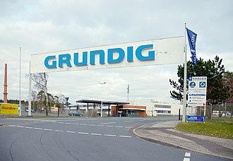 Consten SaRL and Grundig GmbH v Commission - Image: Nürnberg Grundig 4111