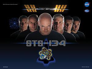 Mission poster, based on a Star Trek promotional poster.
