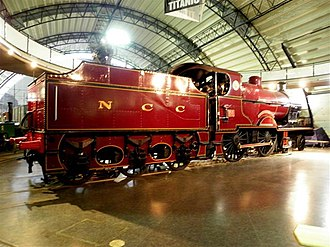 Steam locomotives of Ireland - Image: NCC 74 Dunluce Castle, Cultra geograph.org.uk 2760674