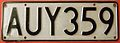 NEW ZEALAND, 2002 -AAA-000 SERIES, OLD TALL DIES, LICENSE PLATE - Flickr - woody1778a.jpg