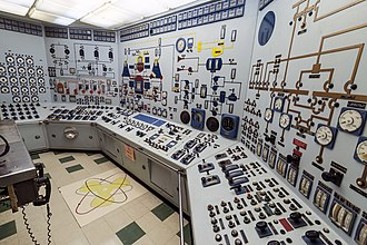 NS Savannah - Savannahs control room