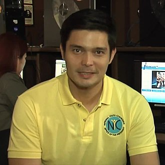 Dingdong Dantes - Dantes as NYC Commissioner in October 2014.