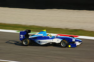 Nick Yelloly - Yelloly at Monza during the 2011 GP3 Series.
