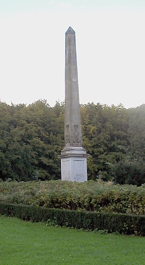 Treaty of Ryswick - The Needle of Rijswijk, an obelisk erected during 1792–1794 to honor the Treaty of Ryswick