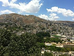 Nablus, June 2014