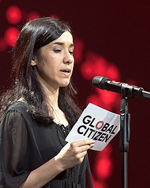 Nadia Murad - Global Citizen Festival Hamburg 02.jpg