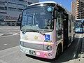 Nagai Un'yu My Bus 888 at Maebashi Station 01.jpg