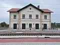 Nagytétény-Diósd vasútállomás, felvételi épület, 2020 Nagytétény.jpg