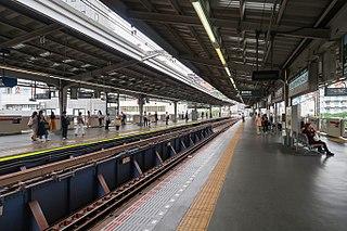Naka-Meguro Station railway station metro station in Meguro, Tokyo, Japan