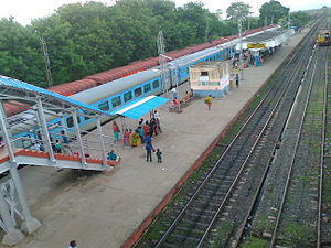 Nalhati Junction railway station - Image: Nalhati Jn Railway Station (2)
