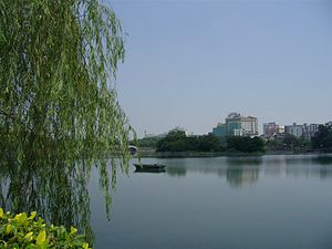 Huizhou - South and West Lake in Linghu