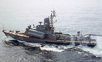 Nanuchka-class corvette - Image: Nanuchka I DN SC 88 09637