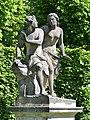 Narcissus and Echo - Skulptur im Barockgarten Grosssednitz.JPG