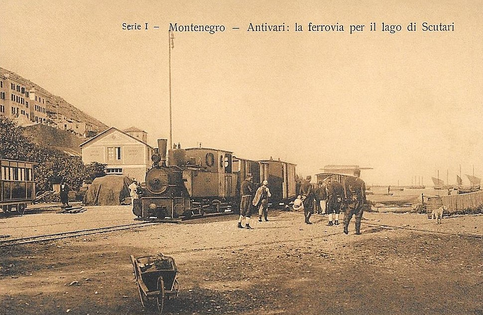 Narrow-Gauge-Railway Bar-Virpazar Station-Bar