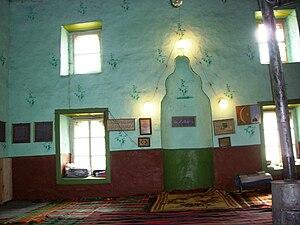 Devin, Bulgaria - Interior of a mosque in Devin