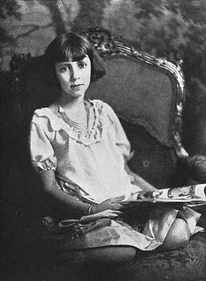 Nathalia Crane - Photograph from The Janitor's Boy: And Other Poems (1924)