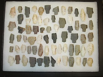 Projectile point - Image: Native American Projectile Points York County Pennsylvania 2014