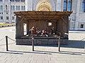 Nativity scene at the Hungarian Parliament, 2017 Lipótváros.jpg