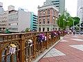 Nayabashi decorated with flowers at Horikawa flower festival - 2.jpg