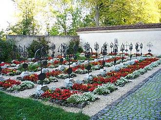 Neresheim Abbey - Image: Neresheim friedhof
