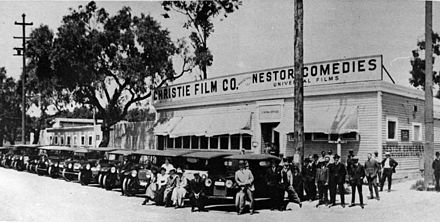 Nestor Studio, Hollywood's first movie studio, 1912 NestorStudios-Hollywood-1913.jpg