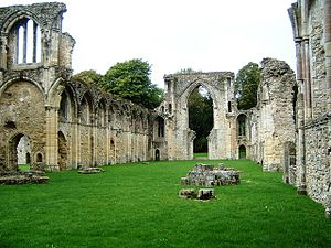 Netley Abbey - Ruins of the church at Netley Abbey