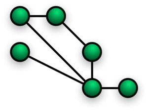 Image showing mesh network layout