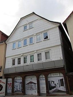 Neustädter Straße in Frankenberg (Eder)