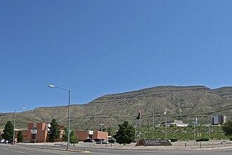 New Mexico State University Alamogordo - Image: New Mexico State University Alamogordo entrance