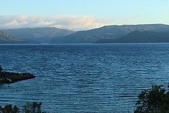 Lake Waikaremoana - Lake Waikaremoana (winter 2015)