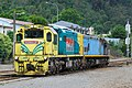 New Zealand DXC class locomotive DXC 5356 in Picton, together with DX 5483 20100121 2.jpg