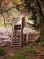 New footbridge at Plankey Mill - geograph.org.uk - 614469.jpg