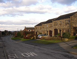 Stocksmoor village in United Kingdom