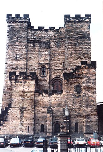The Castle, Newcastle - Newcastle Keep in 1991