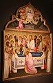 Niccolò di pietro gerini, Dormitio e Assunzione della Vergine, 1370-75 circa (parma, gn) 03 curvatura della tavola.jpg