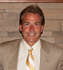 nick saban wikipedia