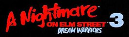 het officiële logo van A Nightmare on Elm Street 3: Dream Warriors