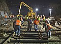 Nighttime repair work after Spuyten Duyvil derailment.jpg