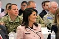 Nikki Haley Hurricane Table Top Exercise (26923764581).jpg