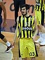 Nikola Kalinic (basketball) 33 Fenerbahçe Men's Basketball 20180126.jpg