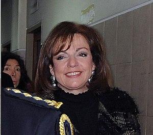 Nilda Garré - Nilda Garré as Security Minister in 2011.