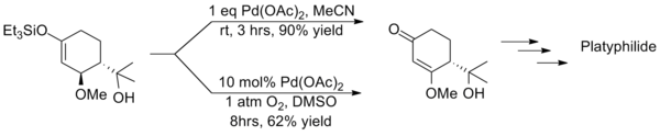 Synthesis of platyphillide