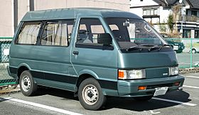 nissan микроавтобус