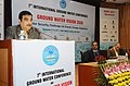 Nitin Gadkari addressing at the inauguration of a three day International Conference on Ground Water Vision 2030- Water Security Challenges and Climate Change Adaptation, in New Delhi.jpg