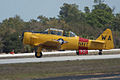 North American SNJ-6 Texan Navy Takeoff 01 TICO 13March2010 (14598865702).jpg