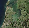 North Holland with parts of Friesland and Flevoland by Sentinel-2 (Original 10m Res).jpg